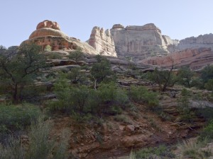 Second side canyon to Fortress Arch