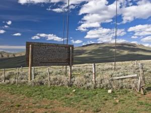 Utah - Colorado - Wyoming Tri-State Marker