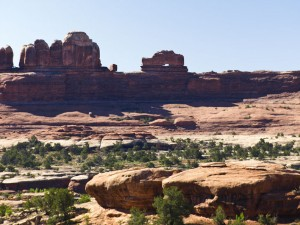 Canyonland's Thirteen Faces and Fourteen Cattleguards