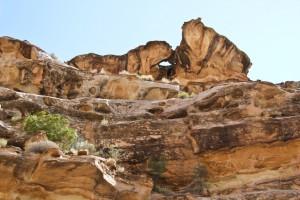 Crack Canyon Arch