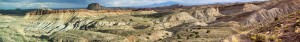 Upper Little Wild Horse Wash panorama