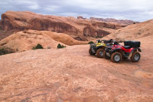 ATVs at Little Arch
