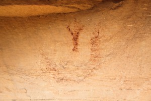 Eagle Canyon pictograph