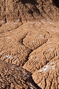 Erosion and soft dirt