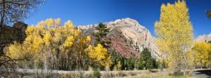 Sheep Creek Canyon panorama