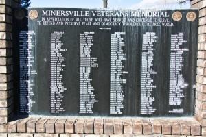 Minersville Veterans Memorial