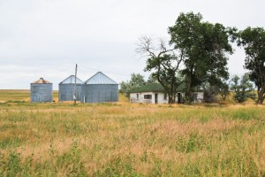 Blue Creek farm ruins
