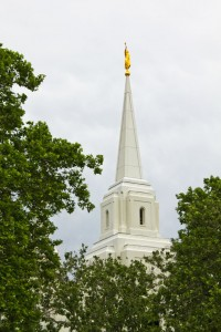 Brigham City Temple Spire