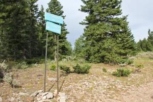 Brush Creek Loop Sign
